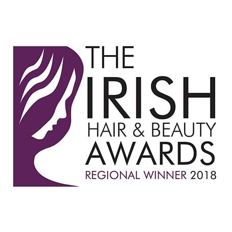 Irish Hair & Beauty Awards Reginoal Winner 2018