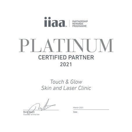 IIAA Platinum Partner - Touch & Glow Skin And Laser