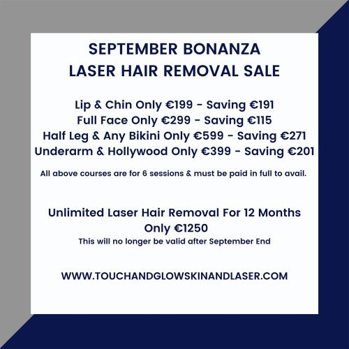 Laser Hair Removal Sale - Touch & Glow Skin And Laser